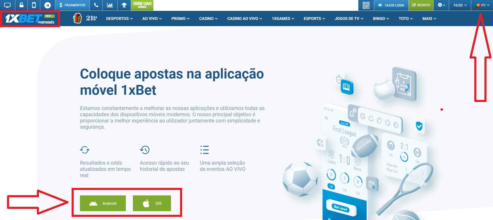 Retomando as rédeas da sorte com 1xBet app Portugal
