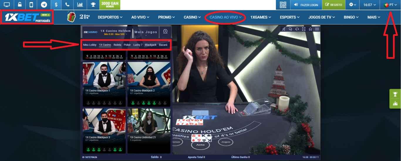 1xBet live stream, uma casa de apostas de confiança